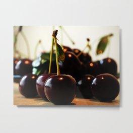 delicious cherry Metal Print
