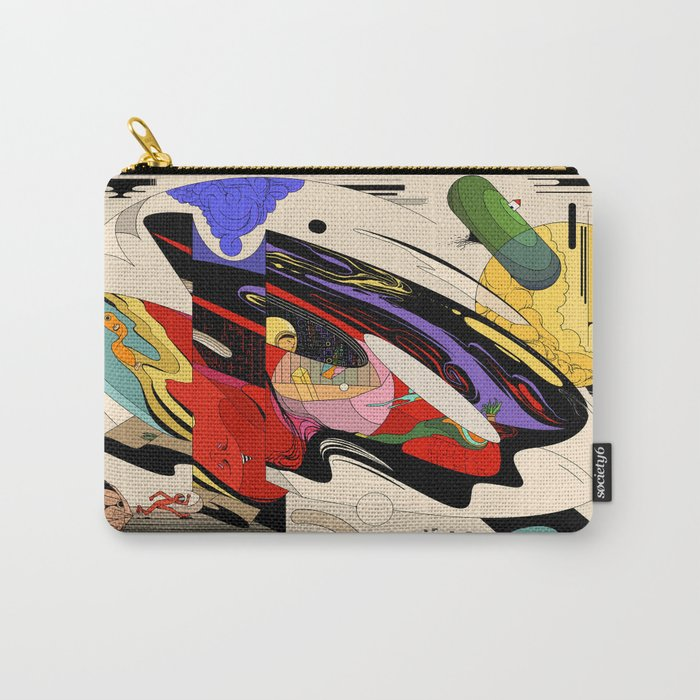 SpaceCar Carry-All Pouch