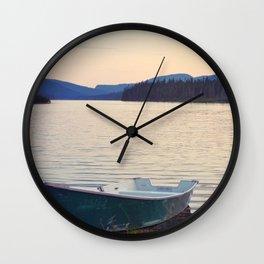 Coucher de soleil au Parc National de la Gaspésie (Québec, Canada) Wall Clock