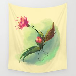 Essence of Nature - Humming Blossom Wall Tapestry