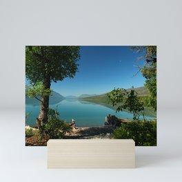 Moody Lake McDonald Mini Art Print