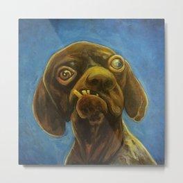 Dogface Metal Print