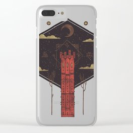 The Crimson Tower Clear iPhone Case