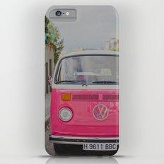 Hot Pink Lady Slim Case iPhone 6 Plus