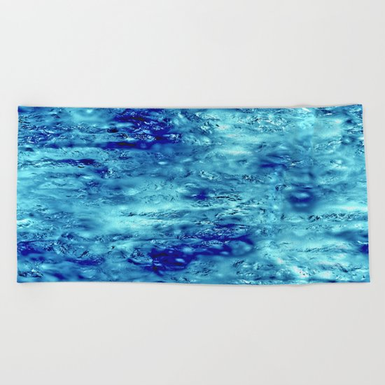 Magic glass Beach Towel