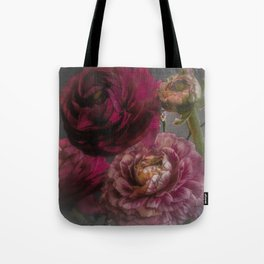Ranunculus and Romance Tote Bag
