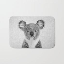 Baby Koala - Black & White Bath Mat
