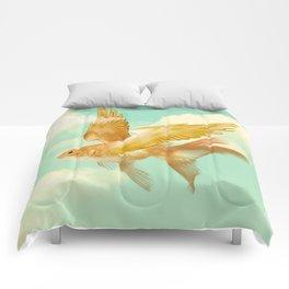 Flying Goldfish Comforters