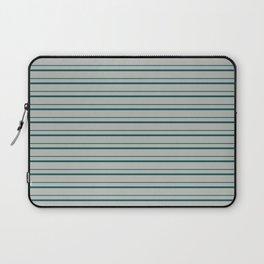 Benjamin Moore 2019 Color Beau Green on Color of the Year 2019 Metropolitan Horizontal Stripes Laptop Sleeve