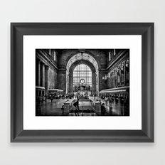 Toronto Union Station 3:23PM Framed Art Print