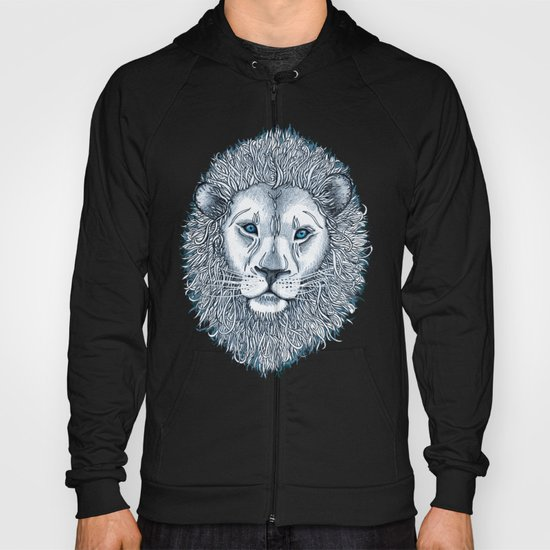 Blue Eyed Lion Hoody