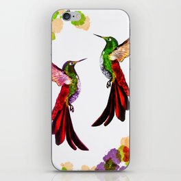 Hummingbird spirit duo2 iPhone Skin