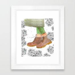 Boots Framed Art Print