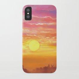 Under the sun iPhone Case