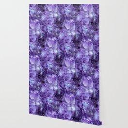 Amethyst Crystals Wallpaper