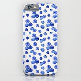 Indigo Blueberries iPhone Case