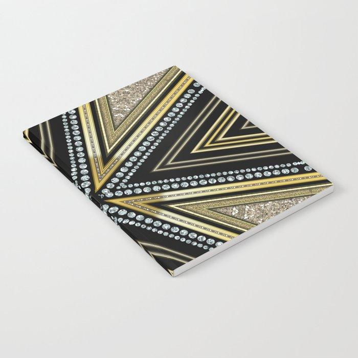 Glam Cross Star Notebook