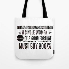 Jane Austen's Office Tote Bag