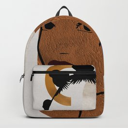 Afro Hair Style - Bantu Knots Backpack