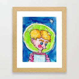 Thief Without Wings Framed Art Print