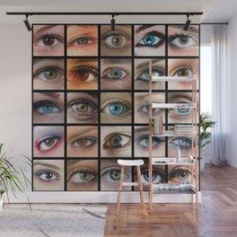 Eyes Wall Mural