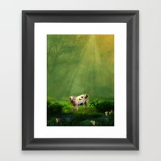 piggy Framed Art Print
