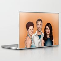allison argent Laptop & iPad Skins featuring Argent Family Photo - San Francisco, 2010 by xKxDx