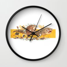 Modern Life Wall Clock
