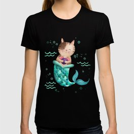 Purrmaid Illustration T-shirt