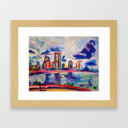 Westside Framed Art Print