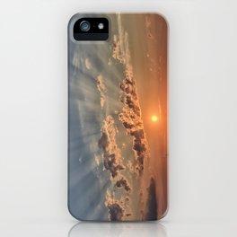 Sunbeam Sunset iPhone Case