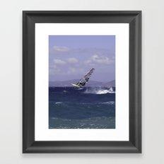 Catching Wind Framed Art Print