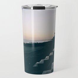 Sun Set Silhouette Travel Mug