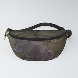 Awesome wolf Fanny Pack
