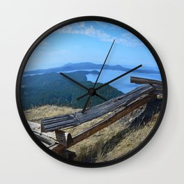 VIEW FROM TURTLEHEAD Wall Clock