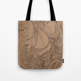Little Ship Tote Bag