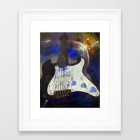 heavy metal Framed Art Prints featuring Heavy Metal by Michael Creese