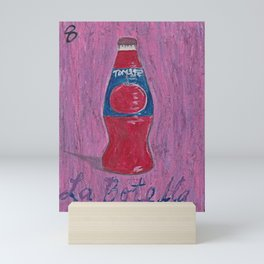 L.A. Loteria La Botella Mini Art Print