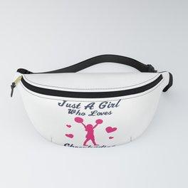 Cheerleading Cheerleaders Love Quote Girl Gift Fanny Pack