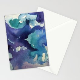 I dream in watercolor B Stationery Cards