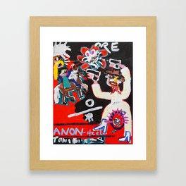 Damp Horsey Framed Art Print