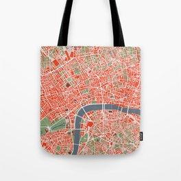 London city map classic Tote Bag