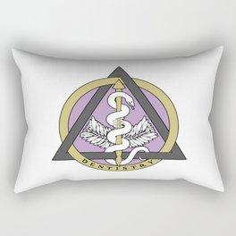 Dental Caduceus Rectangular Pillow