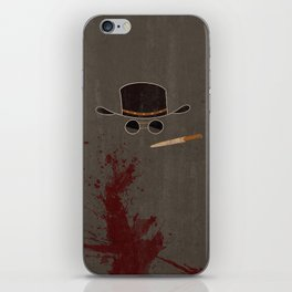 Django Unchained Movie Poster iPhone Skin