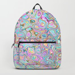 Pastel Blobs Backpack