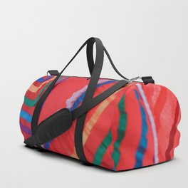 Celebration in Red Duffle Bag