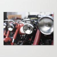 motorbike Canvas Prints featuring Motorbike by Paolo Mazzanti