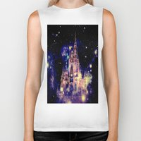 celestial Biker Tanks featuring Celestial Palace by Whimsy Romance & Fun