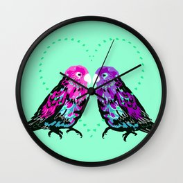 Little Birds Wall Clock