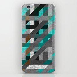 Line Tiles Textured iPhone Skin